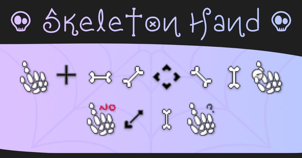 Mano de Calavera | Skeleton Hand