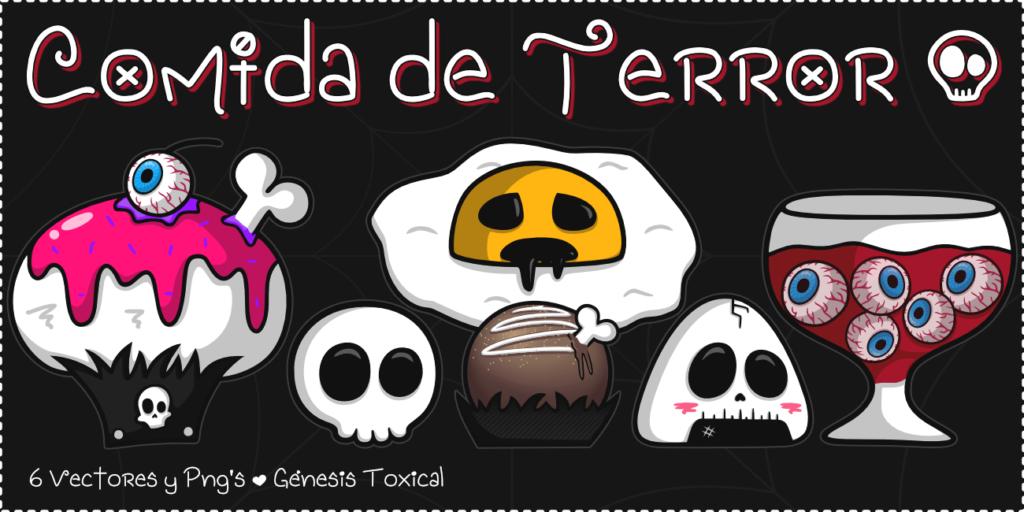 Cupcake Halloween | Comida de Terror