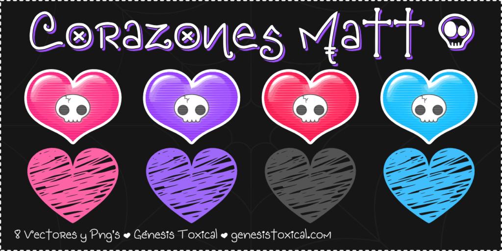Corazones Vectores | Matt