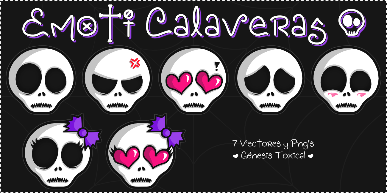 Emoticones de Calaveras | Emoti