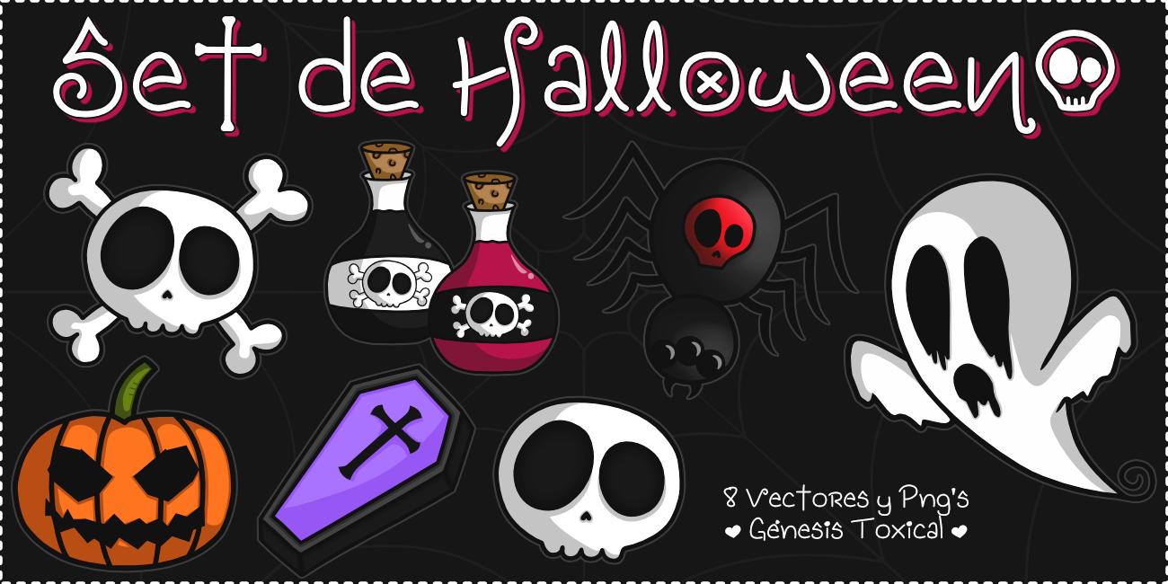 Vectores de Halloween Ilustraciones