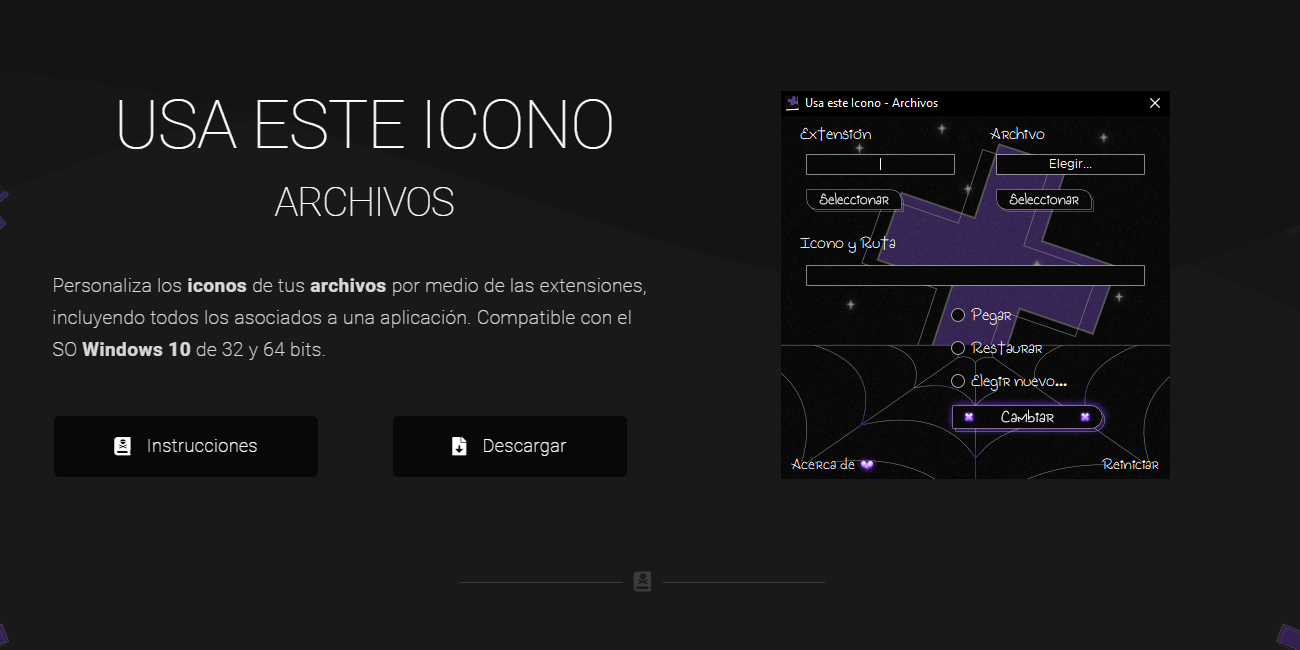 Personalizar Iconos de Archivos w10 (2020)