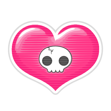 Stickers Corazón Pack