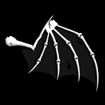 Ala de Murciélago Esqueleto