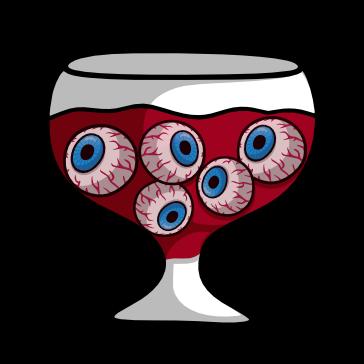 Bebida Halloween con Ojos