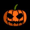 Calavera de Halloween Animada PNG