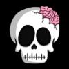 Calavera Zombie PNG