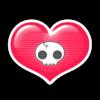 Corazón Calavera PNG