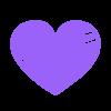Corazón Coloreado PNG