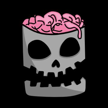 Halloween Dibujo Cerebro