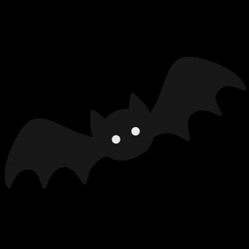 Murciélago Vector PNG