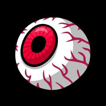 Ojo Animado Globo Ocular