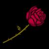 Rosa PNG Dibujo