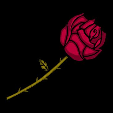Rosa Vector PNG
